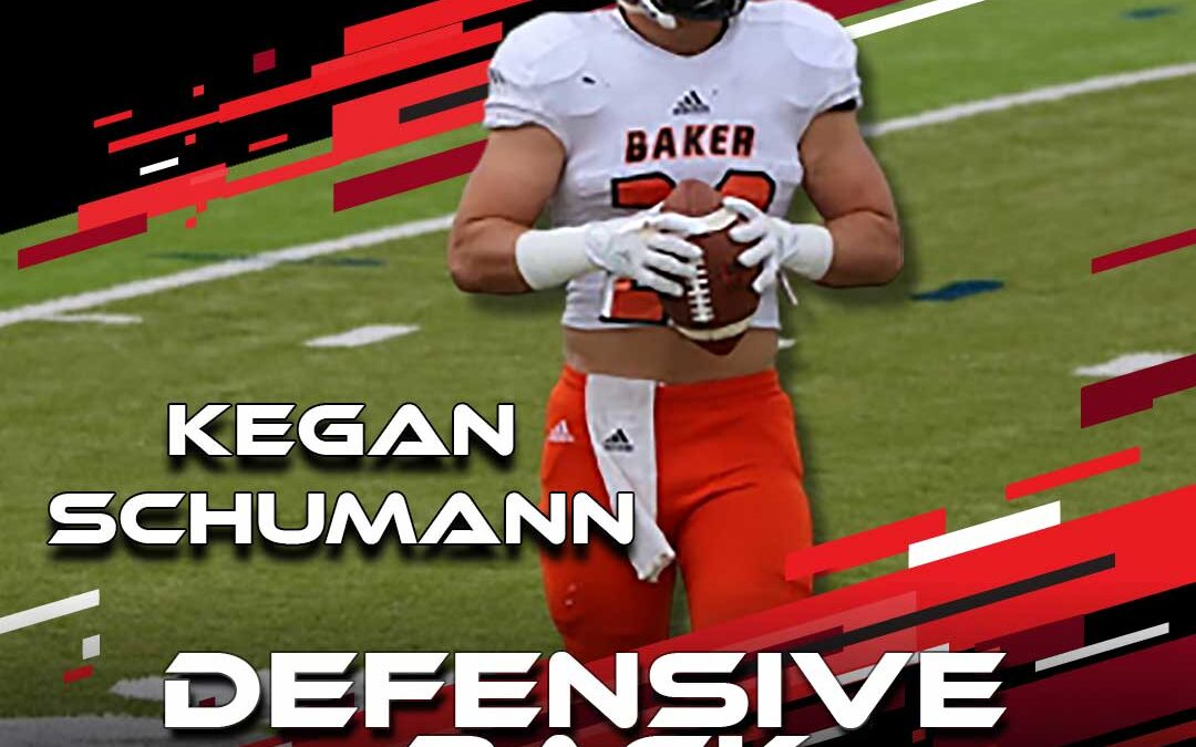 2021 National Scouting Combine Featured Athlete Kegan Schumann, DB from Baker University