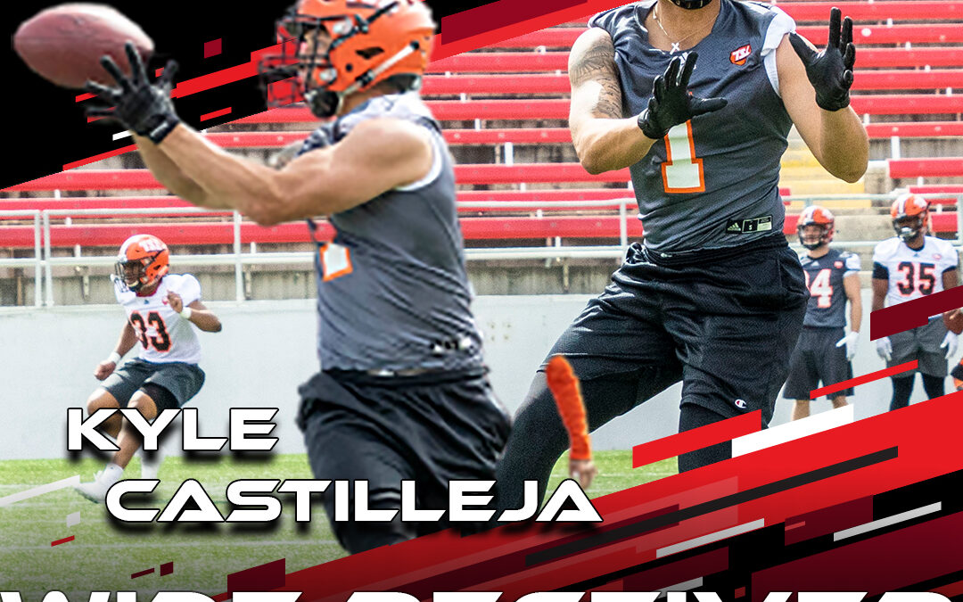 2021 National Scouting Combine Featured Athletes Kyle Castilleja, WR from The Spring League