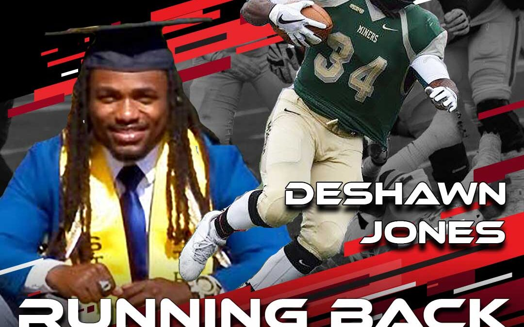 2021 National Scouting Combine Featured Athlete Deshawn Jones, RB from Missouri University of Science and Technology