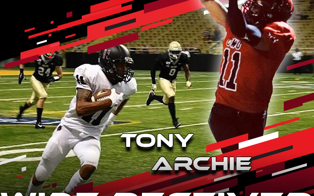 2021 National Scouting Combine Featured Athlete Tony Archie, WR from Central Washington University