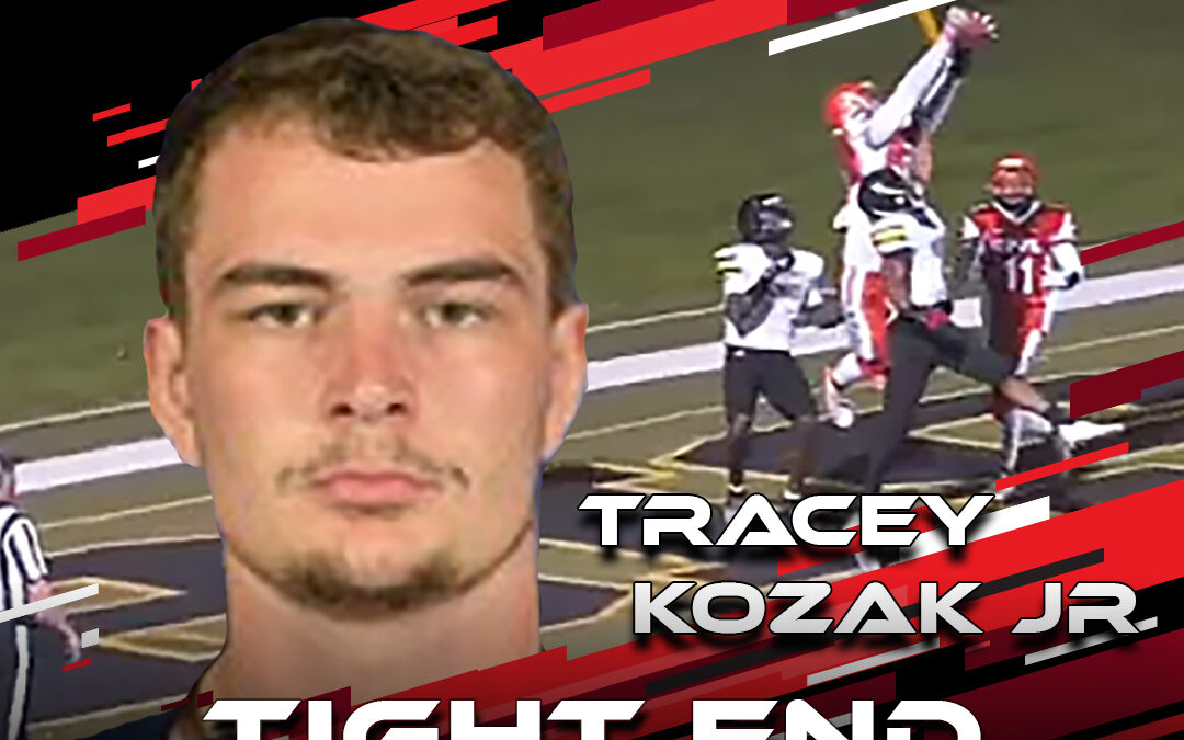 2021 National Scouting Combine Featured Athlete Tracey Kozak Jr, TE/DE from Midland University