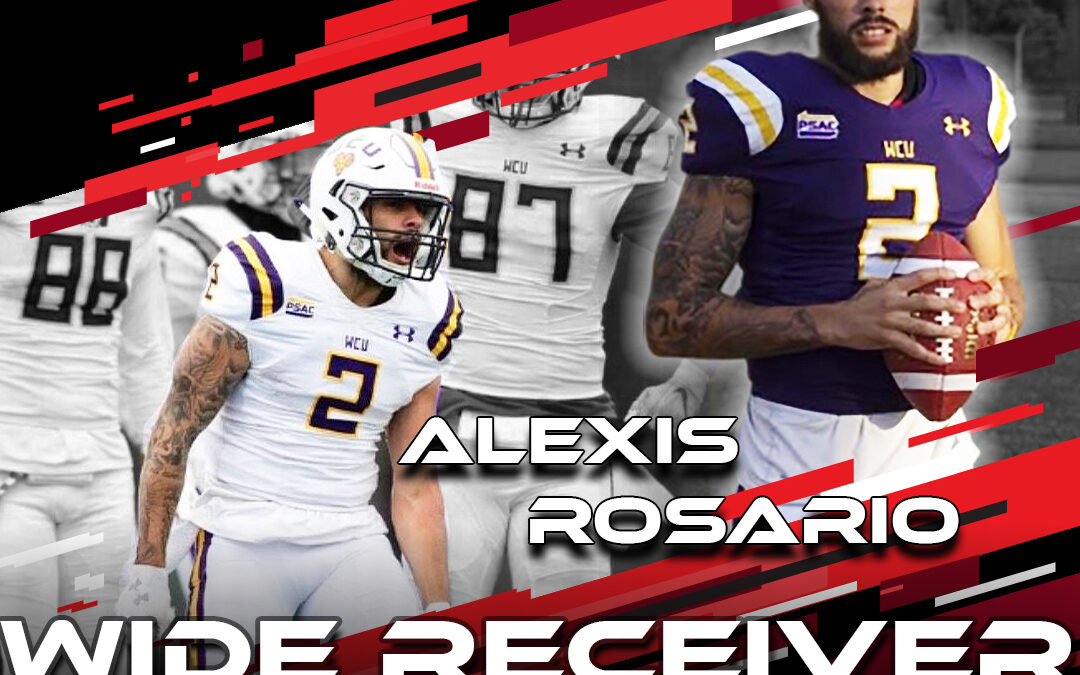 2021 National Scouting Combine Featured Athlete Alexis Rosario, WR from West Chester University