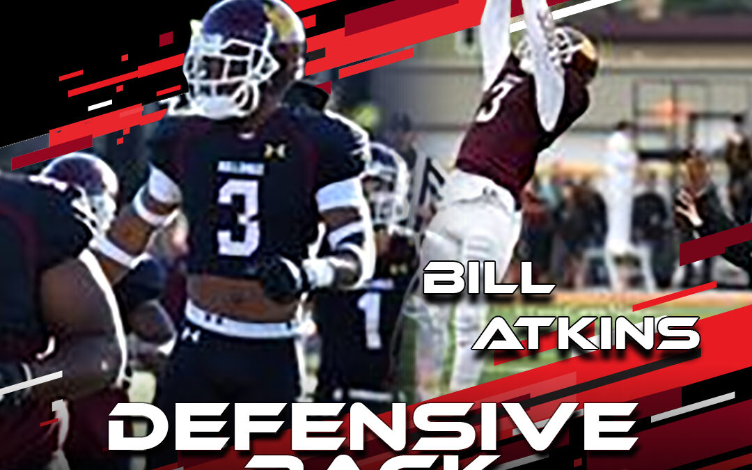 2021 National Scouting Combine Featured Athlete Bill Atkins, DB from Minnesota Duluth