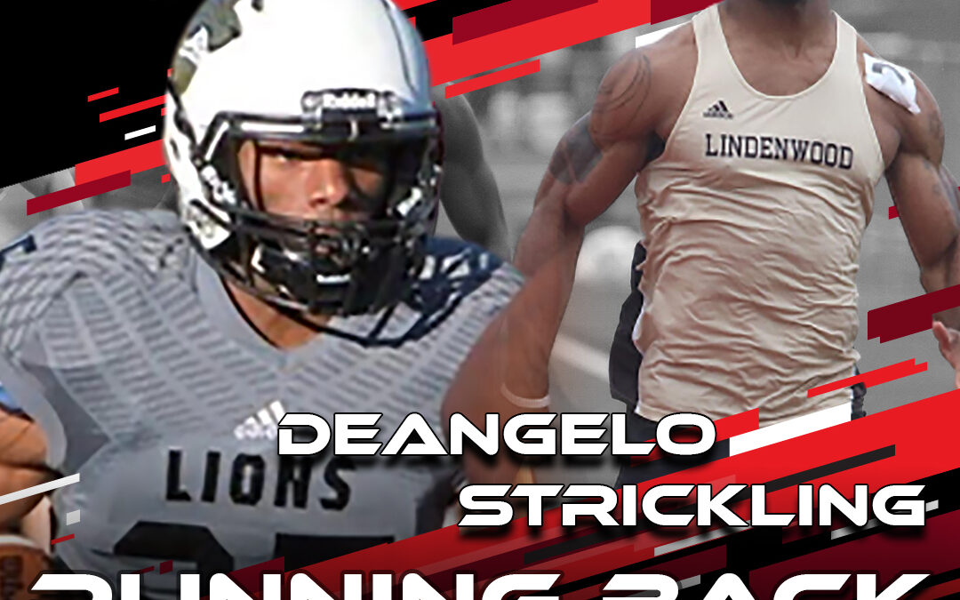 2021 National Scouting Combine Featured Athlete DeAngelo Strickling, RB from Western Kentucky /Lindenwood
