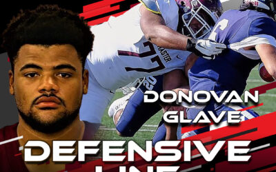 2021 National Scouting Combine Featured Athlete Donovan Glave, DL from McMaster University