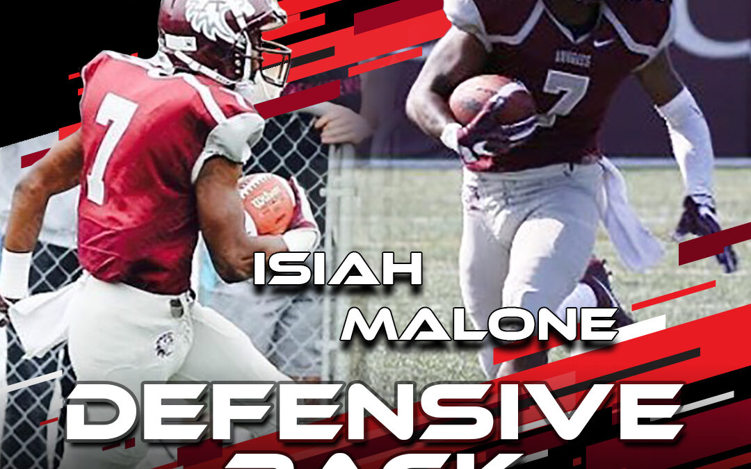 2021 National Scouting Combine Featured Athlete Isiah Malone, DB from Augsburg University