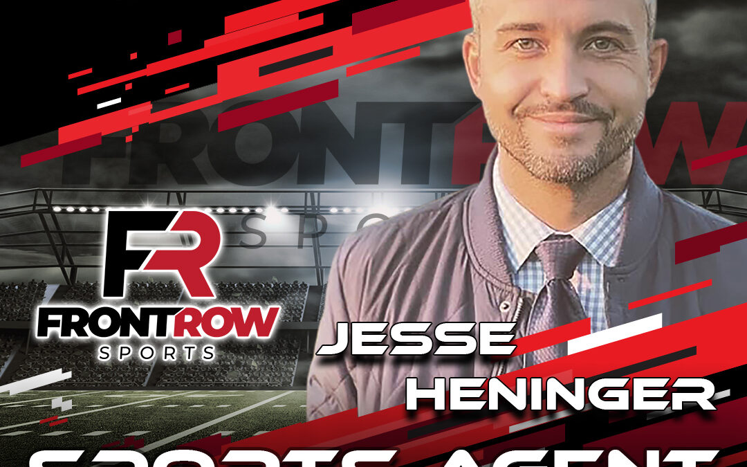 National Scouting Combine Featured Sports Agent Jesse Heninger from Front Row Sports