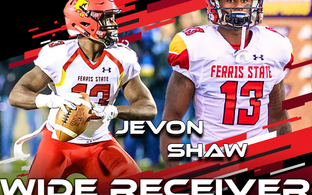 2021 National Scouting Combine Featured Athlete Jevon Shaw, WR from Ferris State