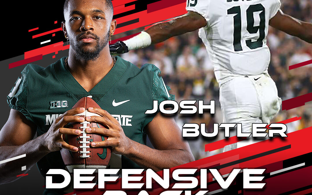 2021 National Scouting Combine Featured Athlete Josh Butler, DB from Michigan State