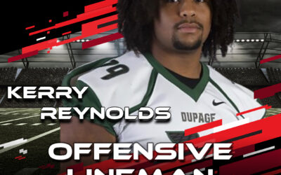 2021 National Scouting Combine Featured Athlete Kerry Reynolds, OL from the College of DuPage