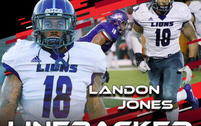 2021 National Scouting Combine Featured Athlete Landon Jones, LB from SW Assemblies of God University