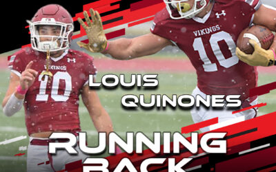2021 National Scouting Combine Featured Athlete Louis Quinones, RB from Valley City State