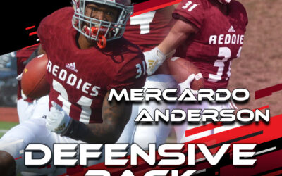2021 National Scouting Combine Featured Athlete Mercardo Anderson, DB from Henderson State