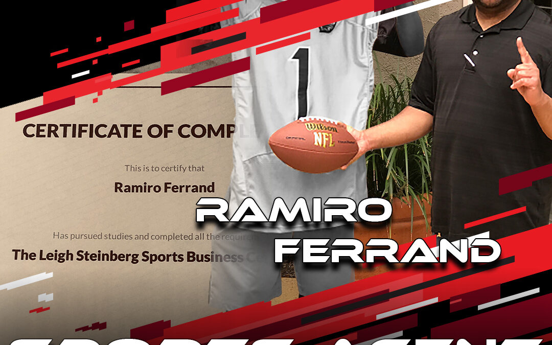 2021 National Scouting Combine Featured Sports Agent Ramiro Ferrand