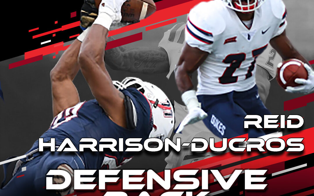 2021 National Scouting Combine Featured Athlete Reid Harrison-Ducros, DB from Duquesne University