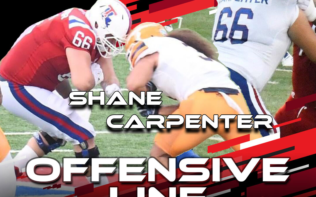 2021 National Scouting Combine Featured Athlete Shane Carpenter, OL from Louisiana Tech