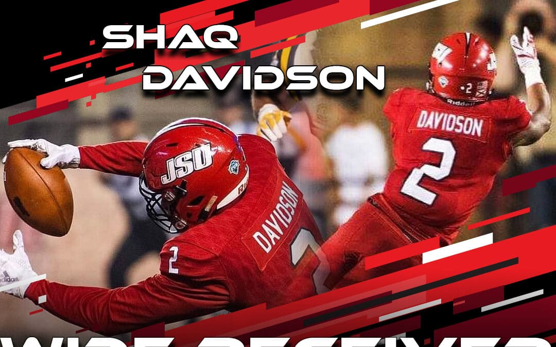 2021 National Scouting Combine Featured Athlete Shaq Davidson, WR from Jacksonville State