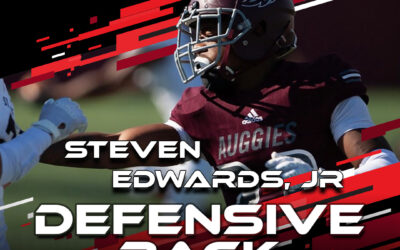 2021 National Scouting Combine Featured Athlete Steven Edwards, DB from Augsburg University