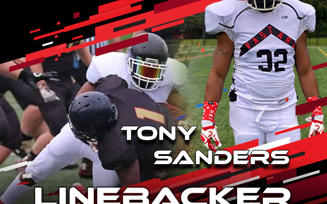 2021 National Scouting Combine Featured Athlete Tony Sanders, LB from VA Starz