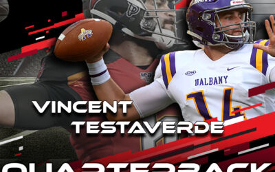 2021 National Scouting Combine Featured Quarterback Vincent Testaverde from the University at Albany
