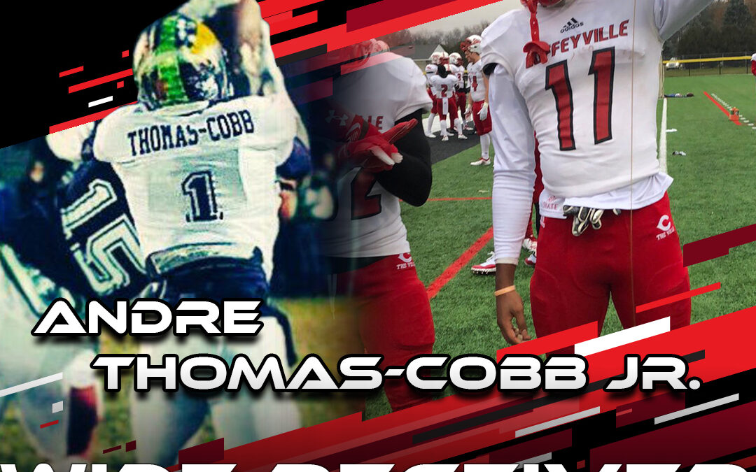 2021 National Scouting Combine Featured Athlete Andre Thomas-Cobb, WR from Coffeyville