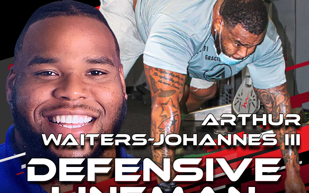 2021 National Scouting Combine Featured Athlete Arthur Waiters-Johannes III, DL from West Virginia