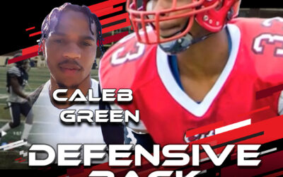 2021 National Scouting Combine Featured Athlete Caleb Green, DB from CC of San Francisco/ University of Akron