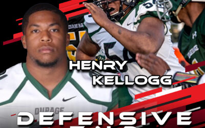2021 National Scouting Combine Featured Athlete Henry Kellogg, DE from College of Dupage