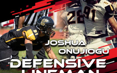 2021 National Scouting Combine Featured Athlete Joshua Onujiogu, DL from Framingham State