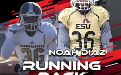2021 National Scouting Combine Featured Athlete Noah Diaz, RB from Emporia State
