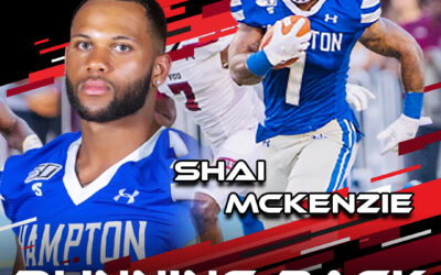 2021 National Scouting Combine Featured Athlete Shai Mckenzie, RB from Hampton University