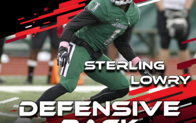 2021 National Scouting Combine Featured Athlete Sterling Lowry, DB from Wagner College