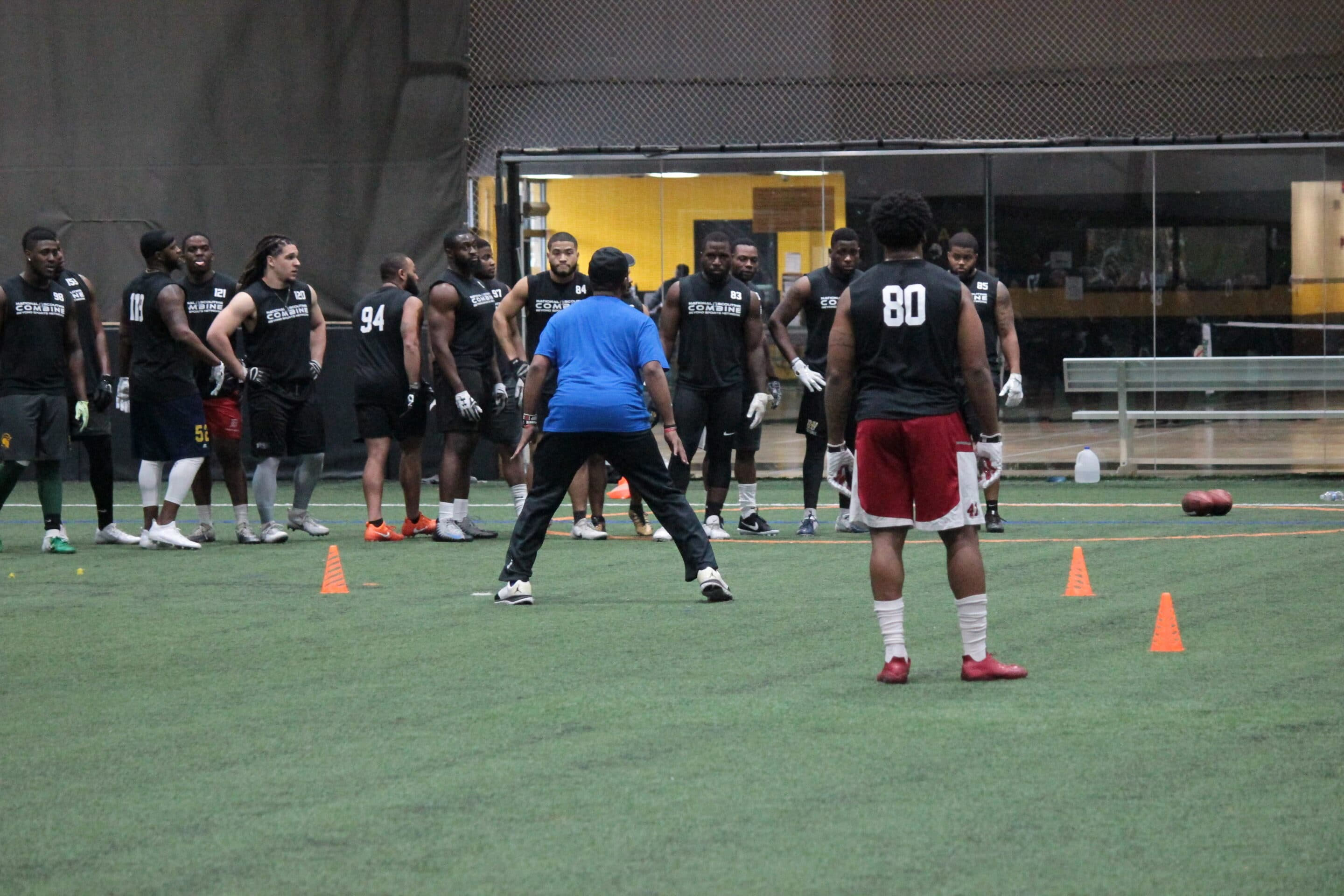 2018 NATIONAL SCOUTING COMBINE – Day 2: DB Drills