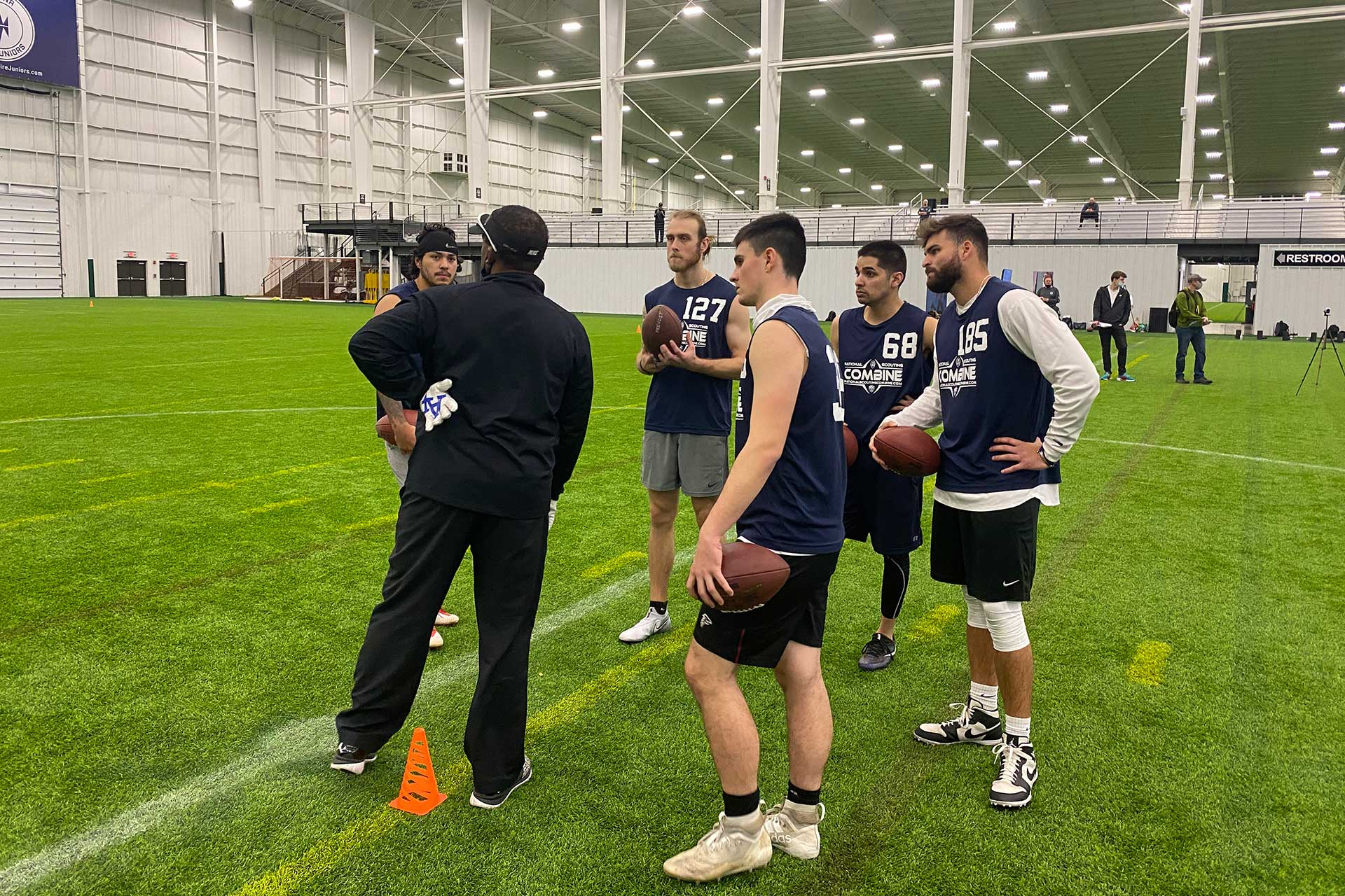 2021 National Scouting Combine Quarterback Position Drills