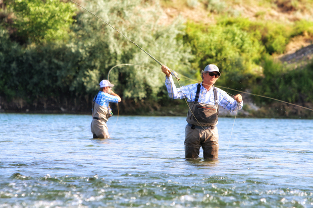 Anglers on the Bighorn can find success in a variety of water during the summer season.