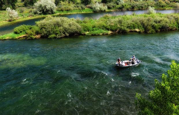 Bighorn River Summer Fishing