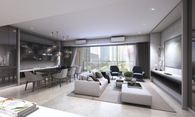 GCR - 3BR Courtyard Suite - Render
