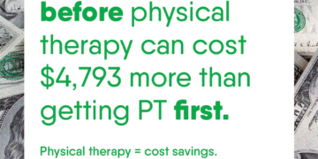 #GetPT1st: It will save you money!
