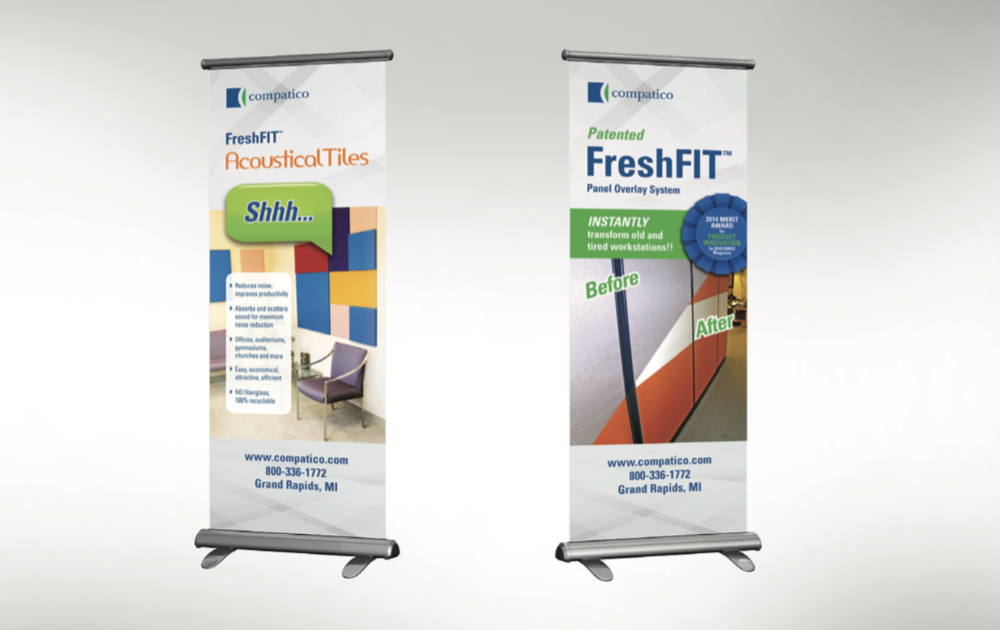 Compatico Display Banners