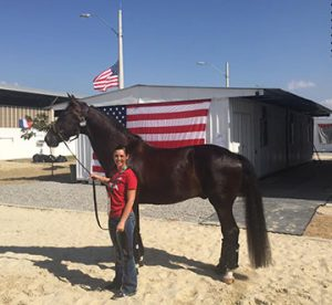 Kasey and Dublet in Rio Photo Courtesy of Robert Dover