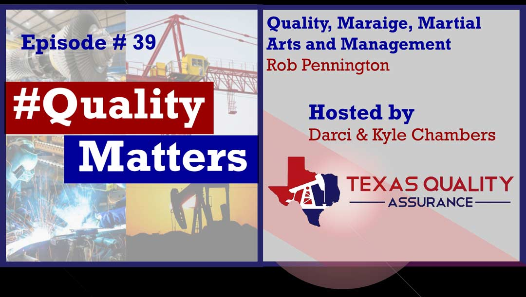 Ep 39 – Quality, Marriage, Martial Arts and Management  – ASQ Conference w/ Dr. Rob