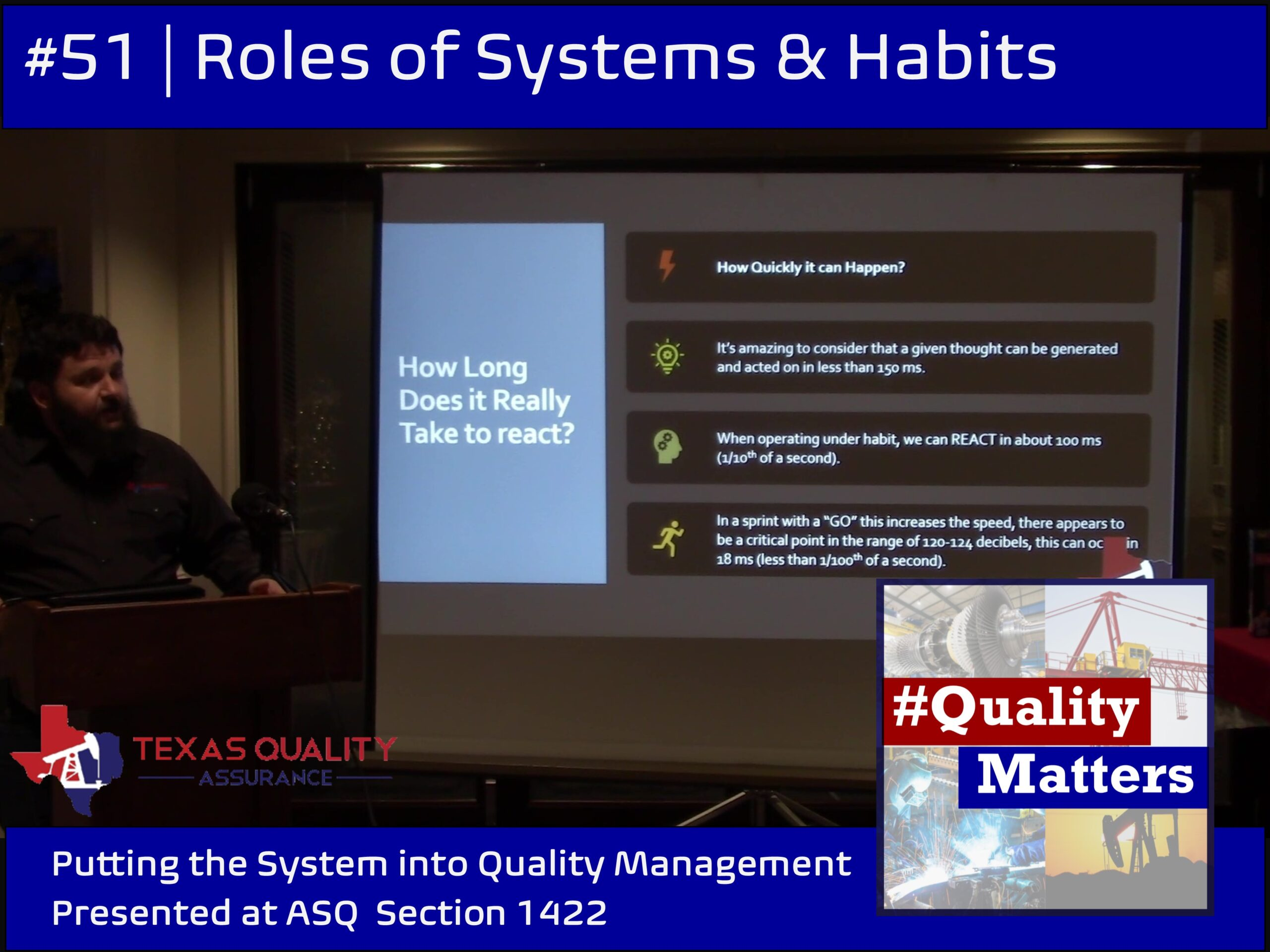 ASQ 1422 Systems & Habits of QMS