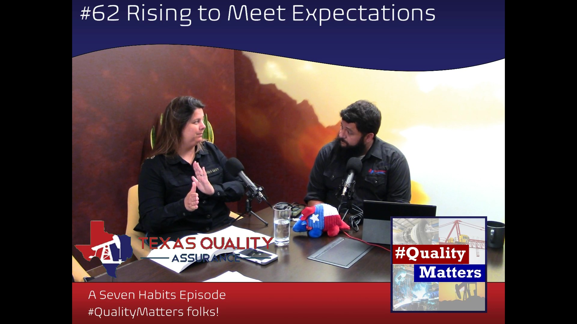 Ep 62 – Rising to Meet Expectations
