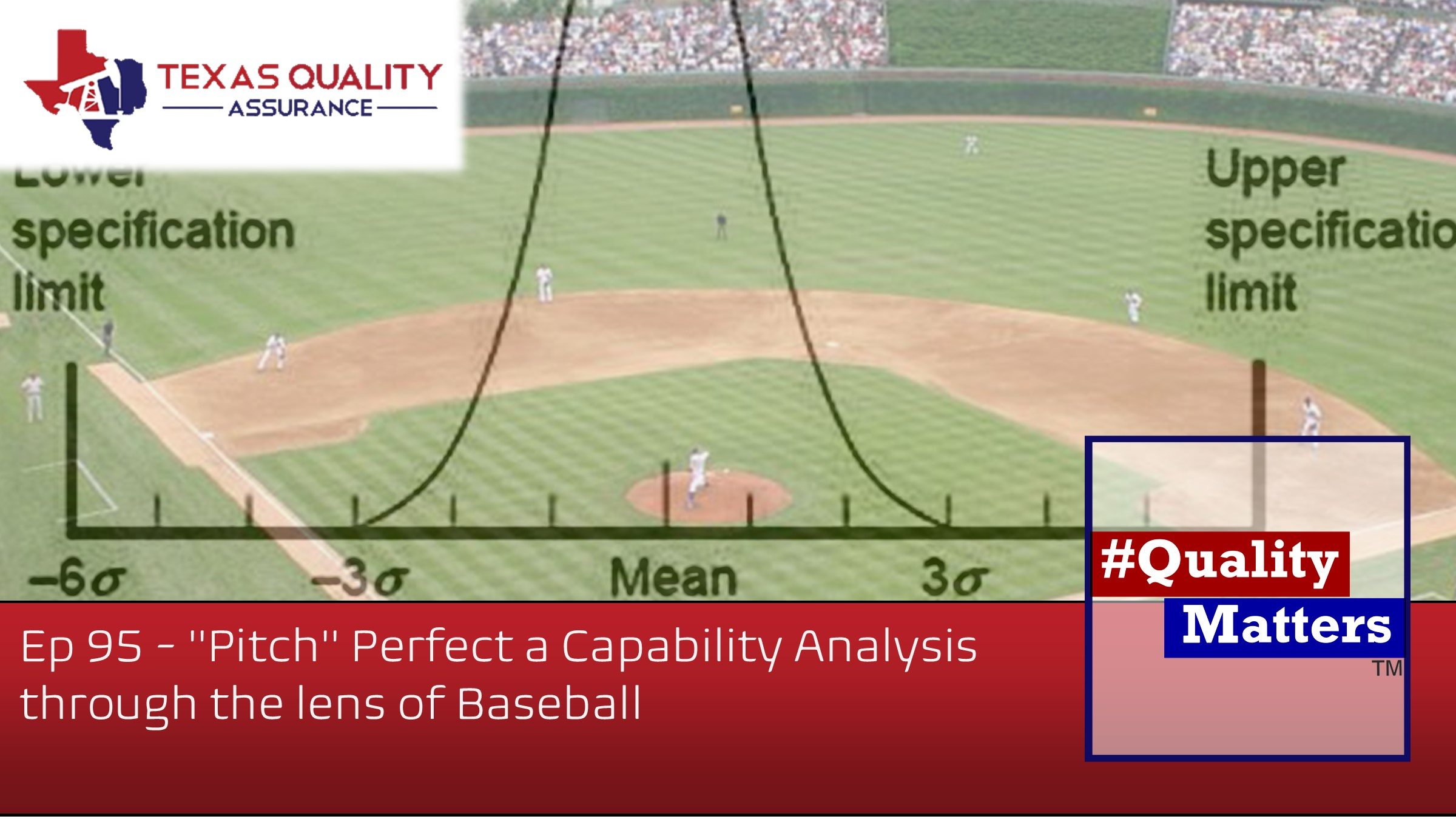"Ep 95 – ""Pitch"" Perfect a Capability Analysis through the lens of Baseball"