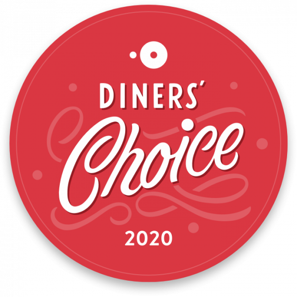 2018 Diners Choice Award