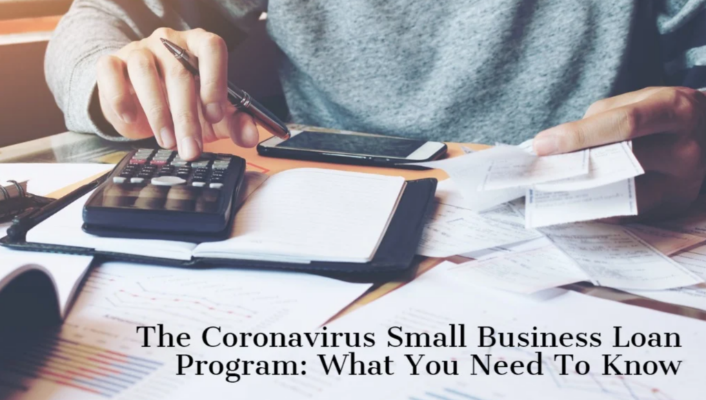 SMALL BUSINESS STIMULUS LOANS DURING CORONAVIRUS