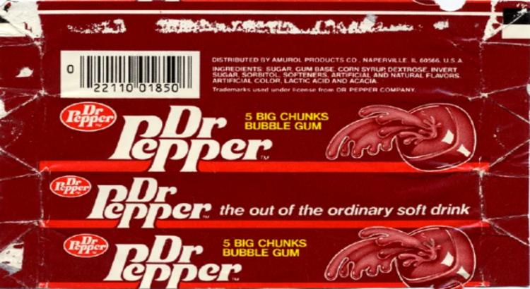 Dr Pepper Gum
