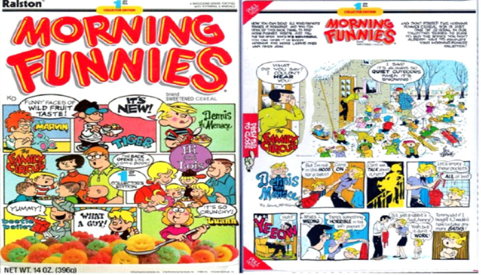 Morning Funnies Cereal