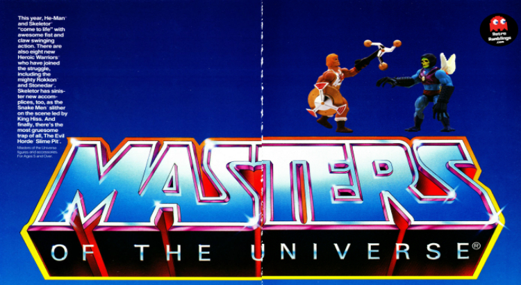 1986 Masters of the Universe Catalog