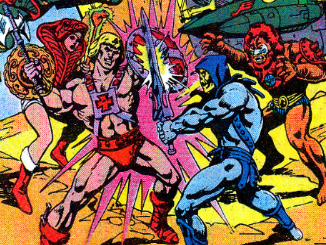 Masters of the Universe Comic Book Ad